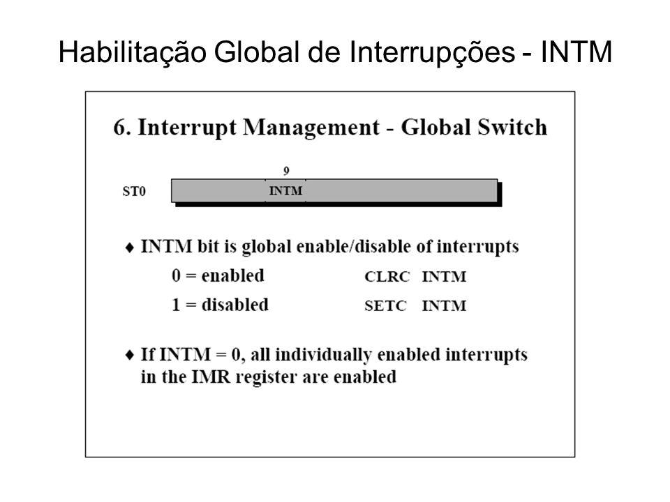 Habilitação Global de Interrupções - INTM