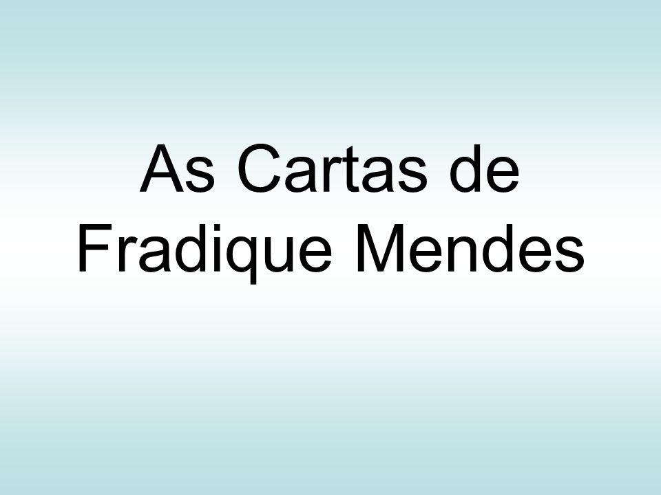 As Cartas de Fradique Mendes