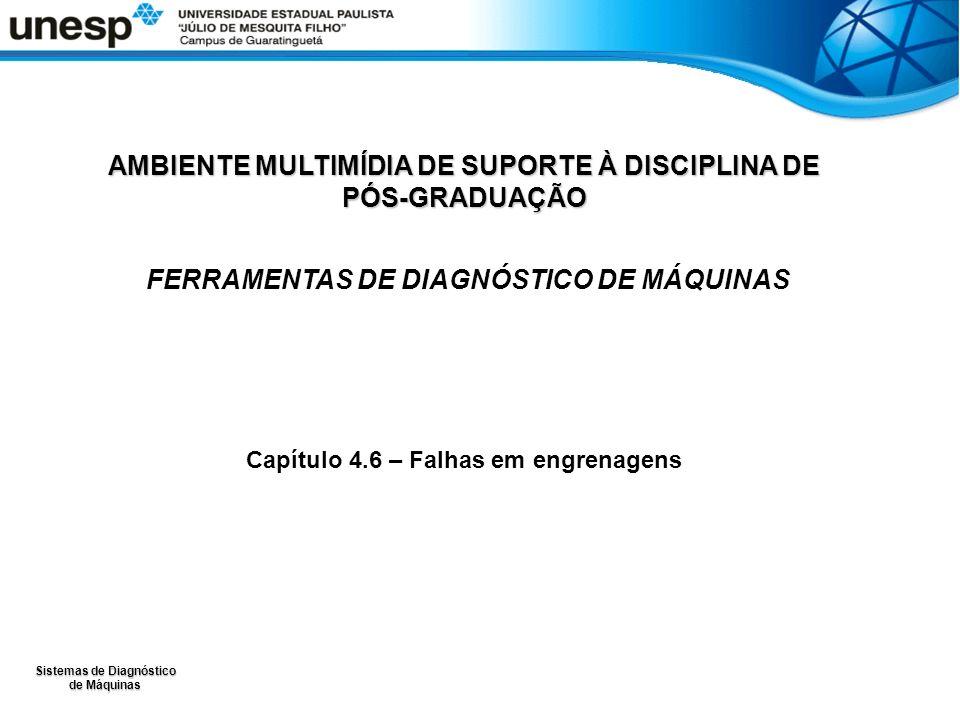 Sistemas de Diagnóstico de Máquinas AMBIENTE MULTIMÍDIA DE SUPORTE À DISCIPLINA DE PÓS-GRADUAÇÃO FERRAMENTAS DE DIAGNÓSTICO DE MÁQUINAS Capítulo 4.6 –