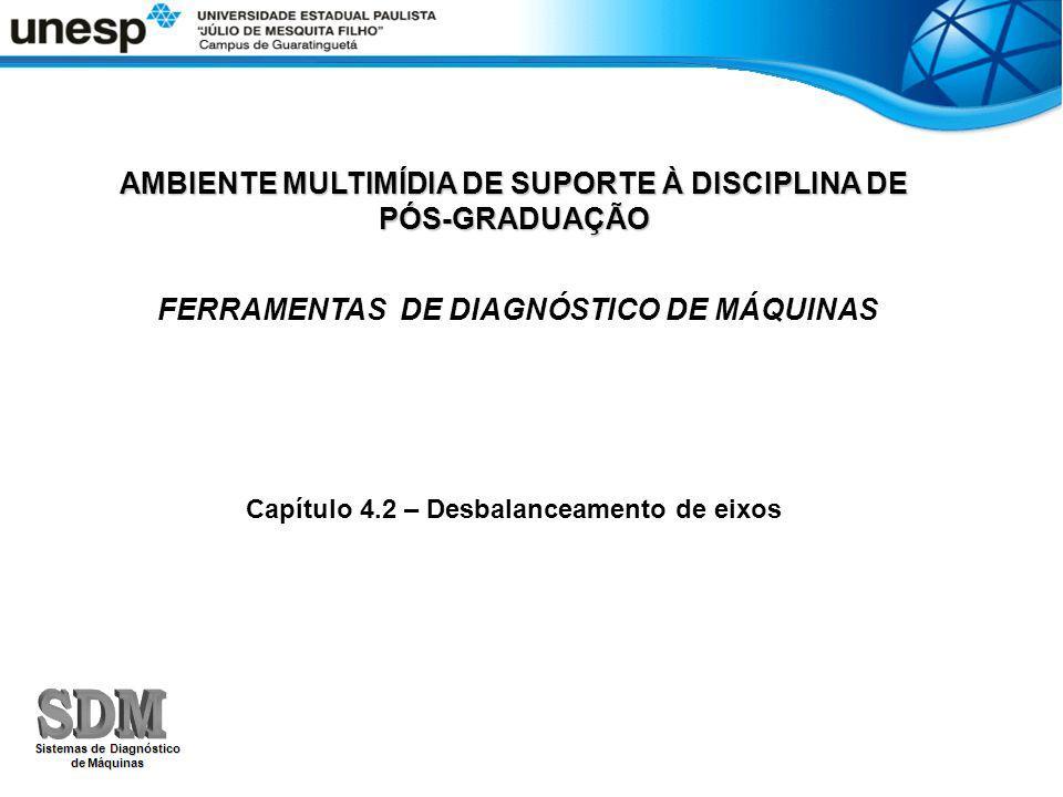 AMBIENTE MULTIMÍDIA DE SUPORTE À DISCIPLINA DE PÓS-GRADUAÇÃO FERRAMENTAS DE DIAGNÓSTICO DE MÁQUINAS Capítulo 4.2 – Desbalanceamento de eixos