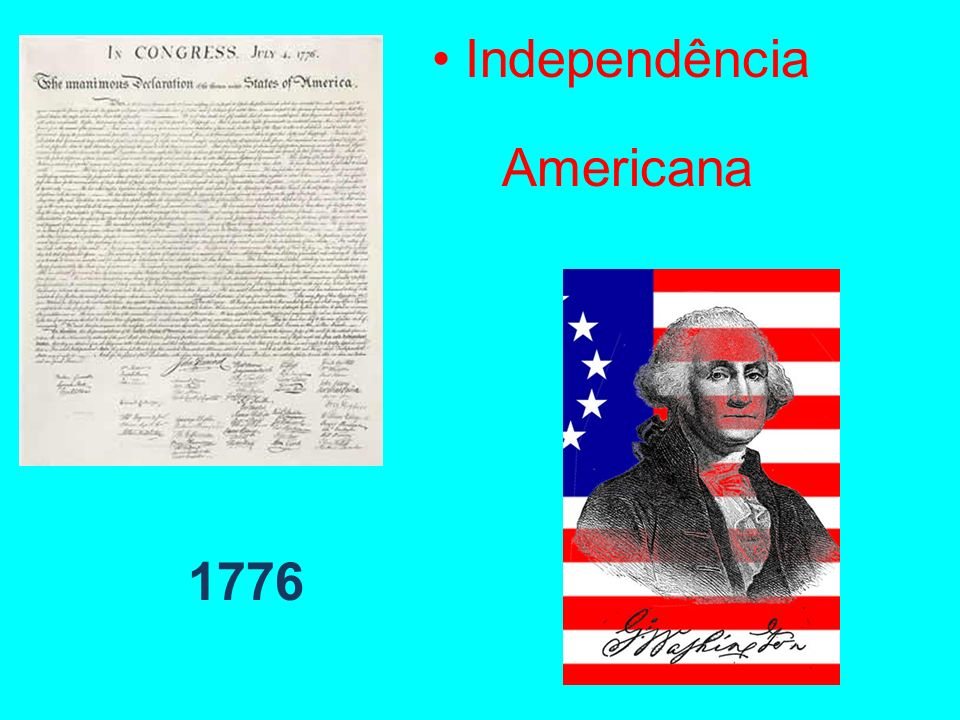 Independência Americana 1776