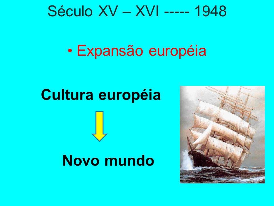 Dicotomias: Expansão X Opressão Inclusão X Exclusão Colonização X Exploração EUROCENTRISMO CENTRO ---- PERIFÉRICO