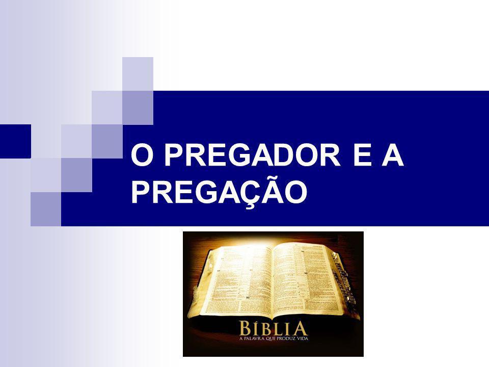 Alguns requisitos para o Pregador Procura apresentar-te a Deus aprovado, como obreiro que não tem de que se envergonhar, que maneja bem a Palavra da verdade.