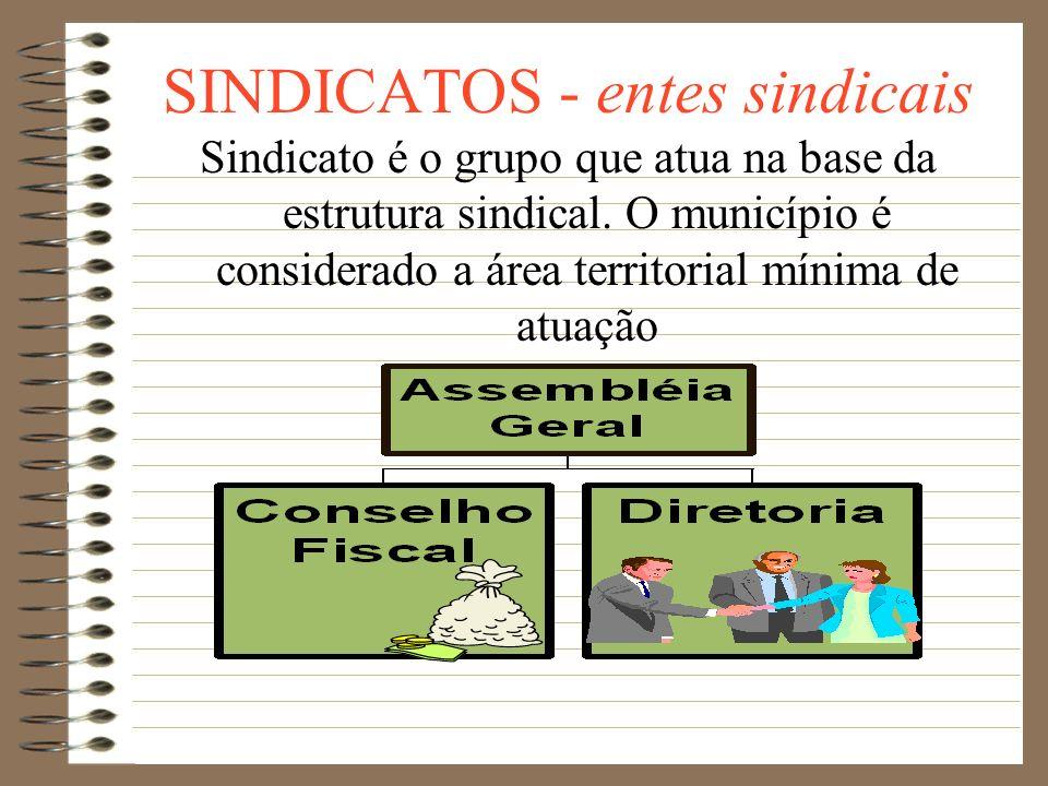 SINDICATOS - conceitos *Independe de autorização do Poder Público. *Obrigatório o registro no CNES (Cadastro Nacional das Entidades Sindicais) *O regi