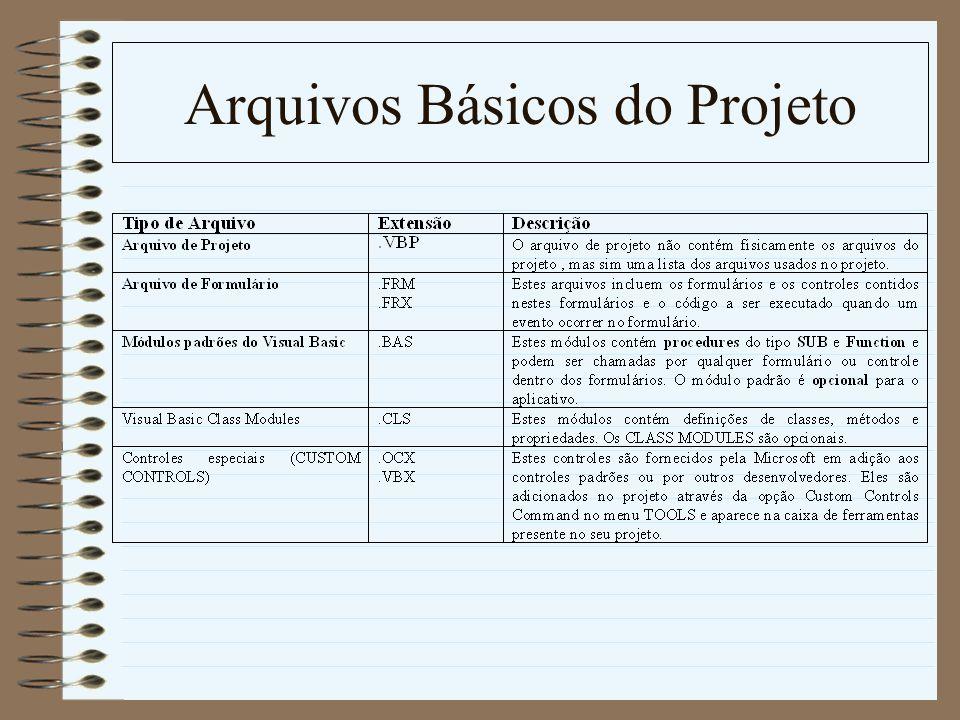 Arquivos Básicos do Projeto