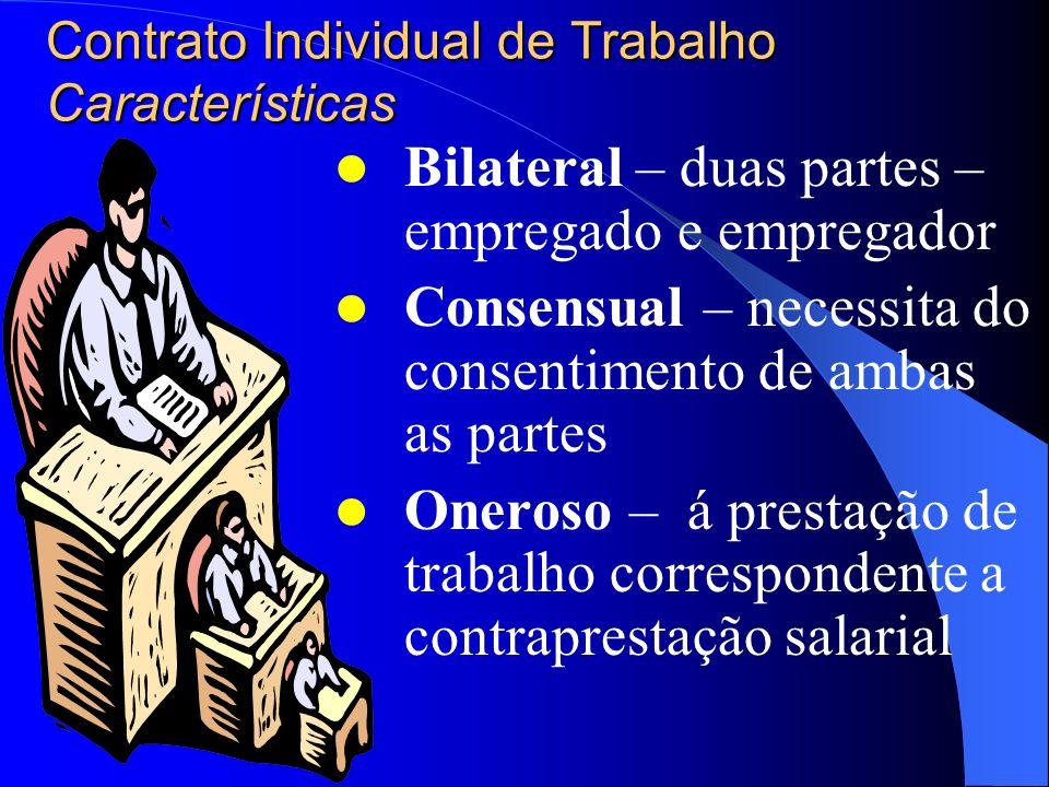 Contrato Individual de Trabalho Legislação aplicável Declaração Universal dos Direitos do Homem – ONU – 1948: arts. XXII a XXV * Constituição Federal