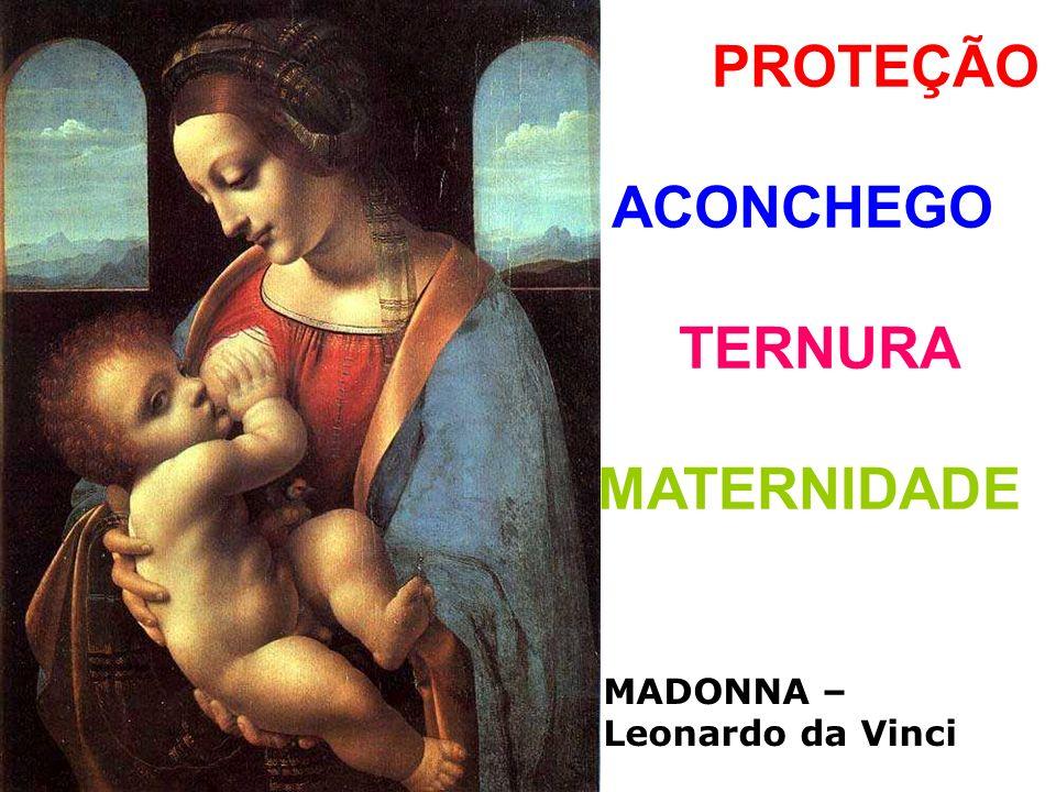 PROTEÇÃO ACONCHEGO TERNURA MATERNIDADE MADONNA – Leonardo da Vinci