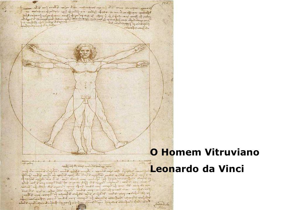 O Homem Vitruviano Leonardo da Vinci