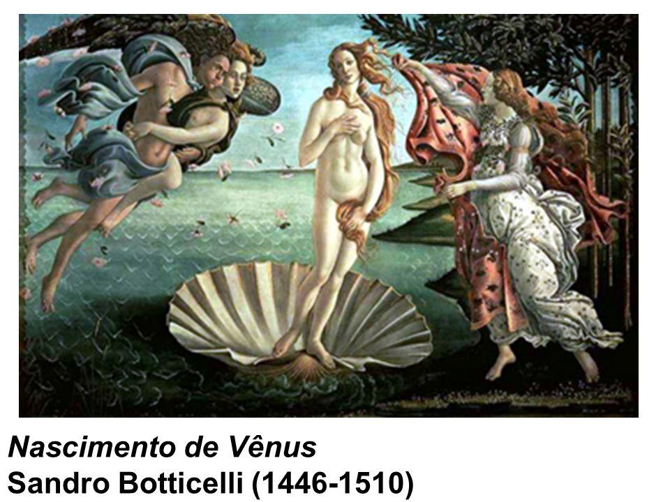 Nascimento de Vênus Sandro Botticelli (1446-1510)
