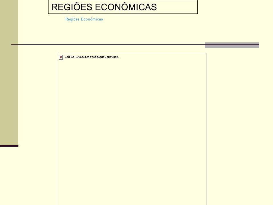 Regiões Econômicas REGIÕES ECONÔMICAS