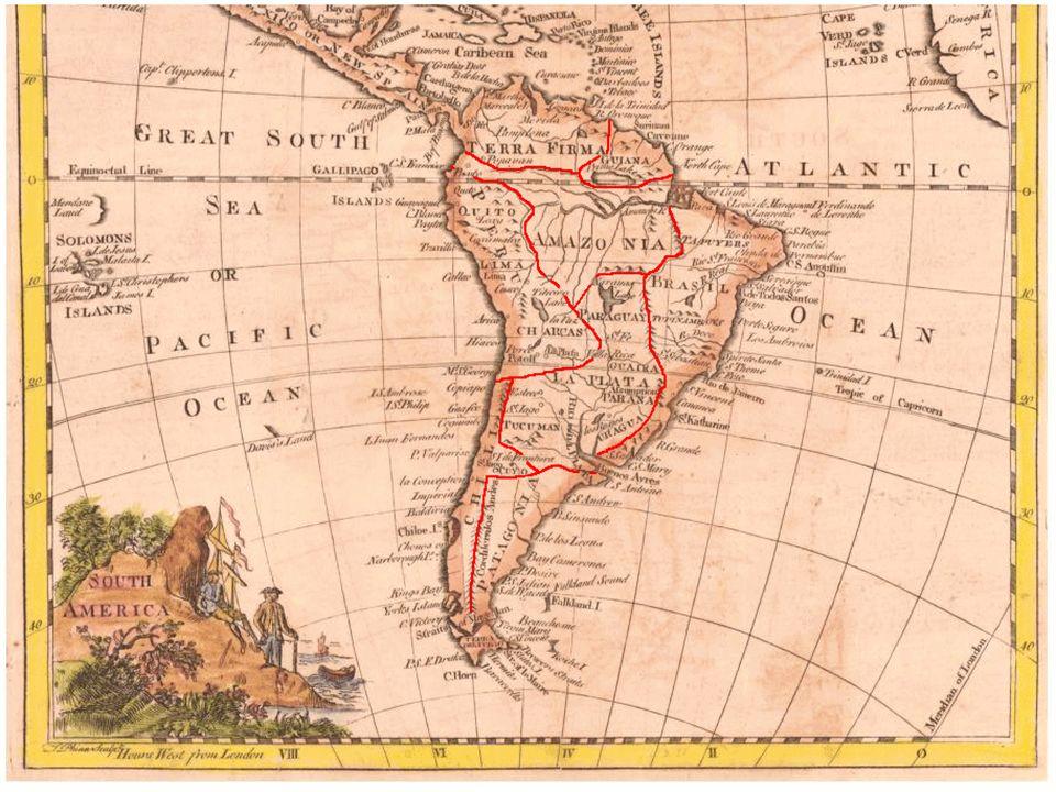 Organização político-administrativa A administração espanhola era bastante descentralizada, estando cada unidade colonial subordinada diretamente à metrópole.