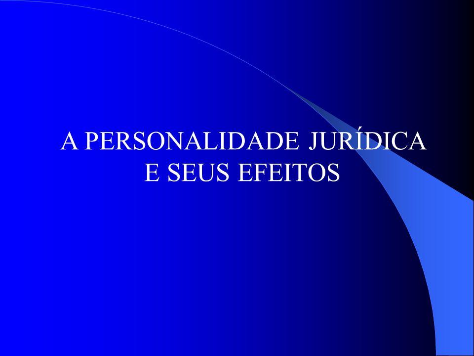 A DESCONSIDERAÇÃO DA PERSONALIDADE JURÍDICA A DESCONSIDERAÇÃO LATO SENSU: DIREITO MATERIAL
