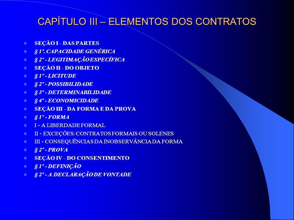 CAPÍTULO IV – DAS GARANTIAS CONTRATUAIS LEGAIS SEÇÃO I - GARANTIA CONTRA VÍCIOS REDIBITÓRIOS (VÍCIOS DE FATO) SUBSEÇÃO I - CONCEITUAÇÃO § 1º - DEFINIÇÃO § 2º - FUNDAMENTOS § 3º - AMPLITUDE § 4º - ELEMENTOS § 5º - EFEITOS: AÇÕES EDILÍCIAS § 6º - A MÁ-FÉ, A FIXAÇÃO E A EXCLUSÃO DA RESPONSABILIDADE DO ALIENANTE § 7º.