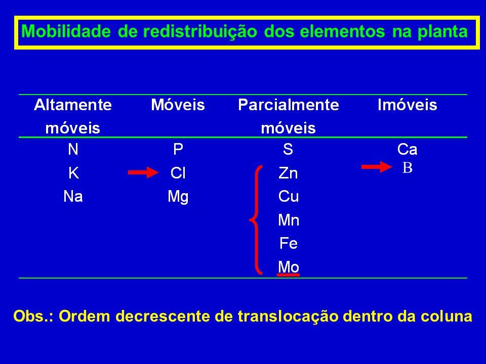 Limites de interpretação de teores de micronutrientes em solos. Fonte: Raij et al. (1997). 5 - 12 0,6 - 1,2