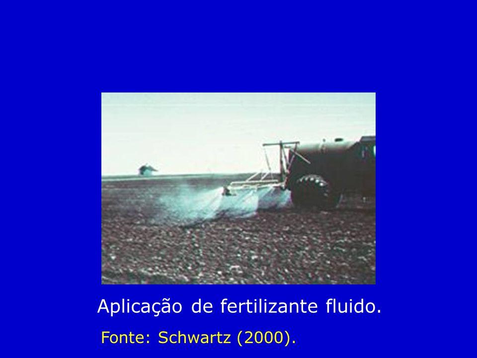 Adubação nas axilas do abacaxizeiro Adubação nas axilas do abacaxizeiro