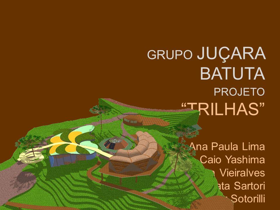GRUPO JUÇARA BATUTA PROJETO TRILHAS Ana Paula Lima Caio Yashima Larissa Vieiralves Renata Sartori Victor Sotorilli