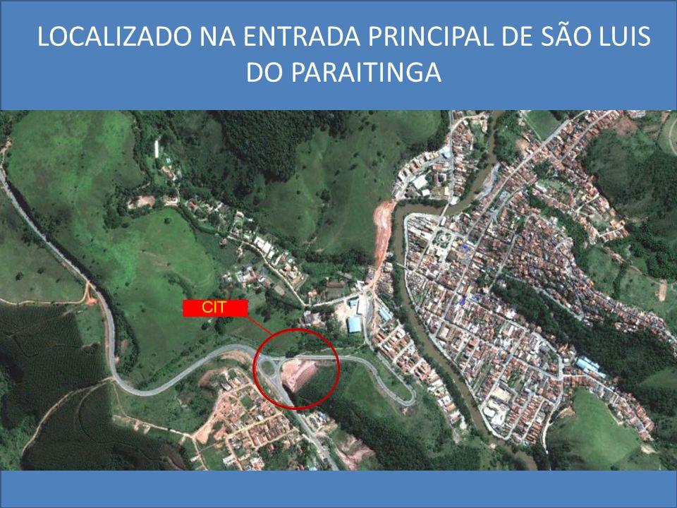 LOCALIZADO NA ENTRADA PRINCIPAL DE SÃO LUIS DO PARAITINGA