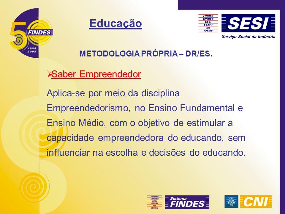 METODOLOGIA PRÓPRIA – DR/ES.Articulado SESI X SENAI – Ed.