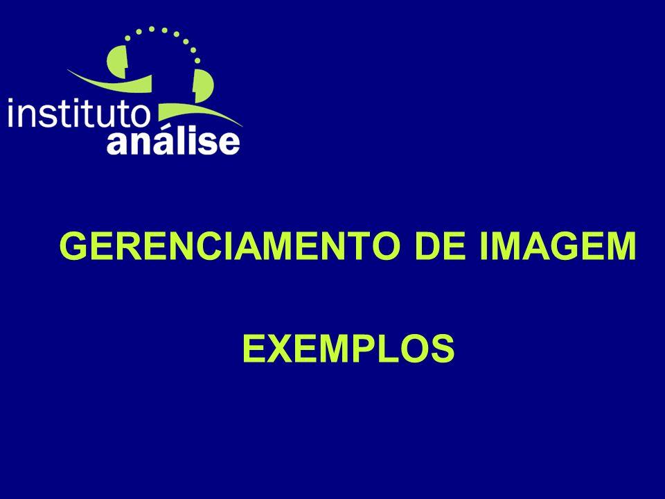 GERENCIAMENTO DE IMAGEM EXEMPLOS