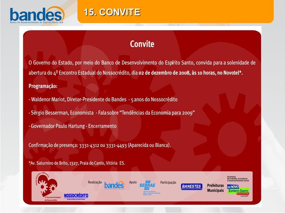 15. CONVITE