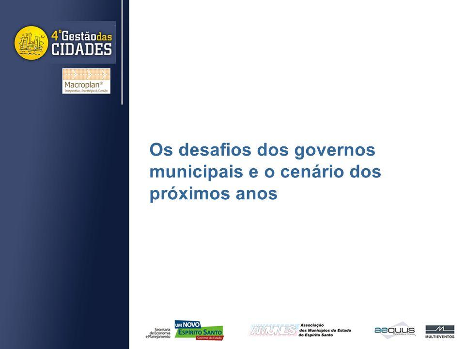 Os desafios dos governos municipais e o cenário dos próximos anos