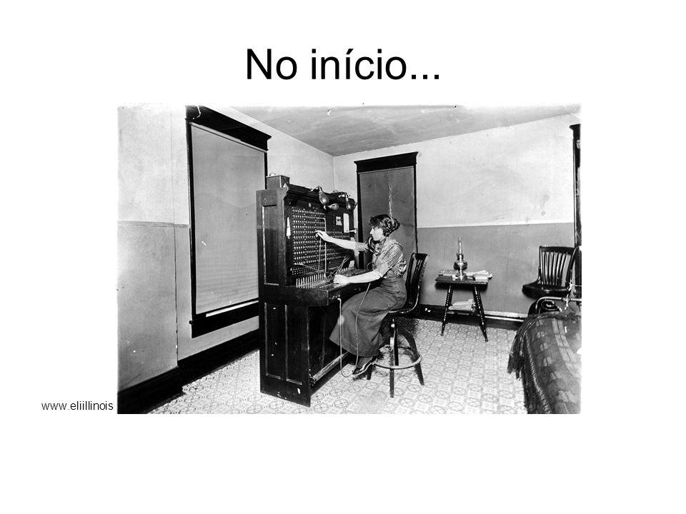 foi assim...Primeiros 50 anos da telefonia Desenvolvimento lento.
