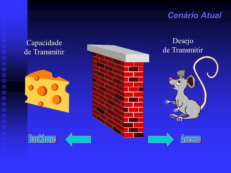 Serviço Ethernet – Modelo Básico definido em MEF 1 Equipmento do Usuário (CE) se conecta à UNI Equipmento do Usuário (CE) se conecta à UNI CE pode ser CE pode ser roteador roteador IEEE 802.1Q bridge (switch) IEEE 802.1Q bridge (switch) UNI (User Network Interface) UNI (User Network Interface) Standard IEEE 802.3 Ethernet PHY e MAC Standard IEEE 802.3 Ethernet PHY e MAC 10Mbps, 100Mbps, 1Gbps or 10Gbps 10Mbps, 100Mbps, 1Gbps or 10Gbps Rede Metro Ethernet (MEN) Rede Metro Ethernet (MEN) Pode usar diferentes tecnologias de transporte e serviços de entrega Pode usar diferentes tecnologias de transporte e serviços de entrega SONET/SDH, WDM, RPR, MAC-in- MAC, Q-in-Q, MPLS SONET/SDH, WDM, RPR, MAC-in- MAC, Q-in-Q, MPLS CE UNI Metro Ethernet Network (MEN) UNI