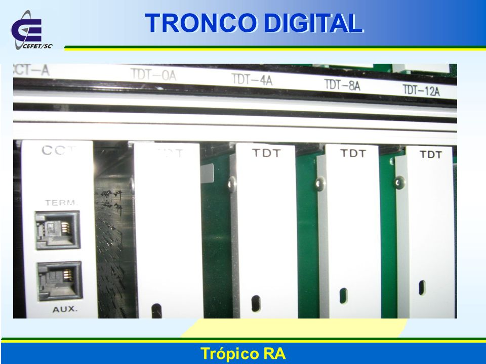 TRONCO DIGITAL Trópico RA