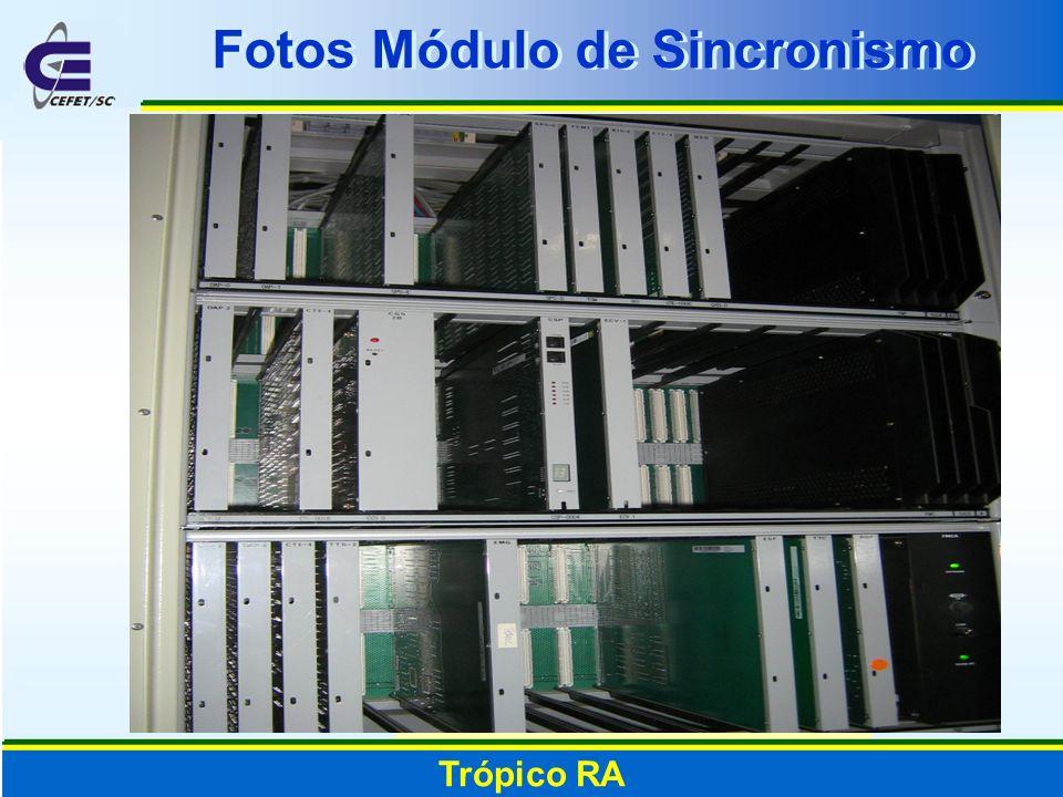 Trópico RA Fotos Módulo de Sincronismo