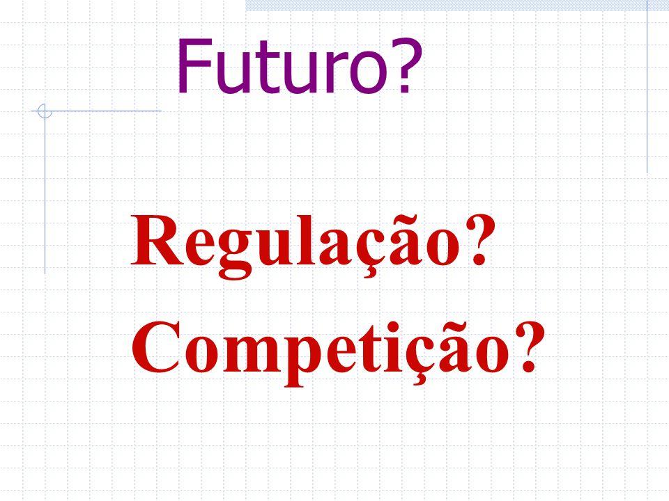 Futuro? Regulação? Competição?