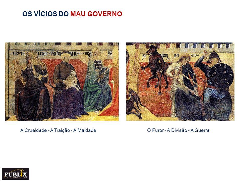 OS EFEITOS DO MAU GOVERNO NA CIDADE E NO CAMPO