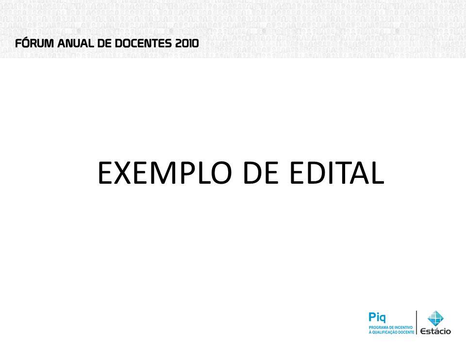EXEMPLO DE EDITAL