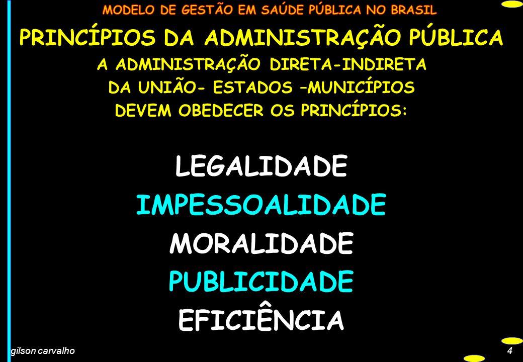 4 PRINCÍPIOS DA ADMINISTRAÇÃO PÚBLICA A ADMINISTRAÇÃO DIRETA-INDIRETA DA UNIÃO- ESTADOS –MUNICÍPIOS DEVEM OBEDECER OS PRINCÍPIOS: LEGALIDADE IMPESSOAL