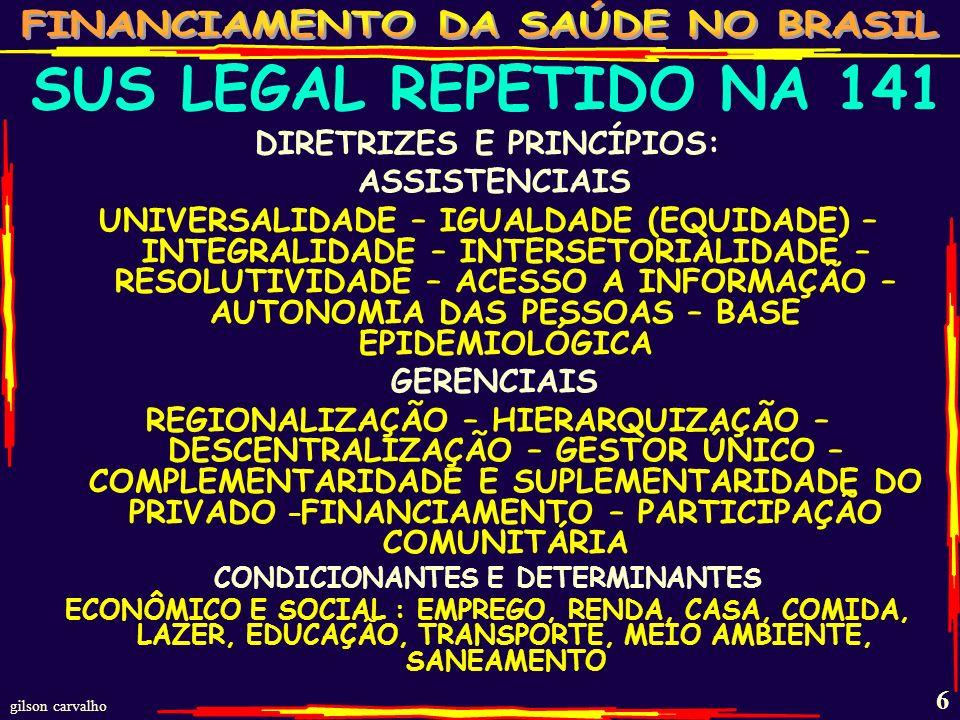 gilson carvalho 66 PROPOSTAS DE REINTRODUÇÃO DOS 10% DA RCB PLP DE INICIATIVA POPULAR REIVINDICANDO NO MÍNIMO 10% DA RECEITA CORRENTE BRUTA DA UNIÃO PARA A SAÚDE PRECISA DE 1,6 MI DE ASSINATURAS A POPULAÇÃO E ENTIDADES ESTÃO SE DESDOBRANDO PARA CONSEGUIR