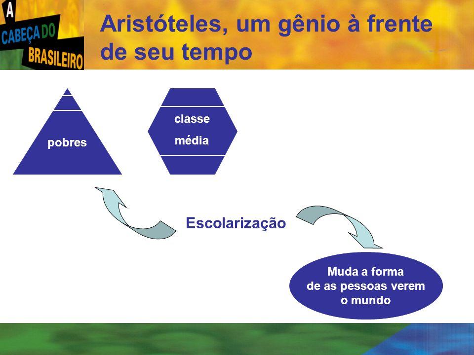 [ 56 ] Aristóteles, um gênio à frente de seu tempo pobres classe média Escolarização Muda a forma de as pessoas verem o mundo