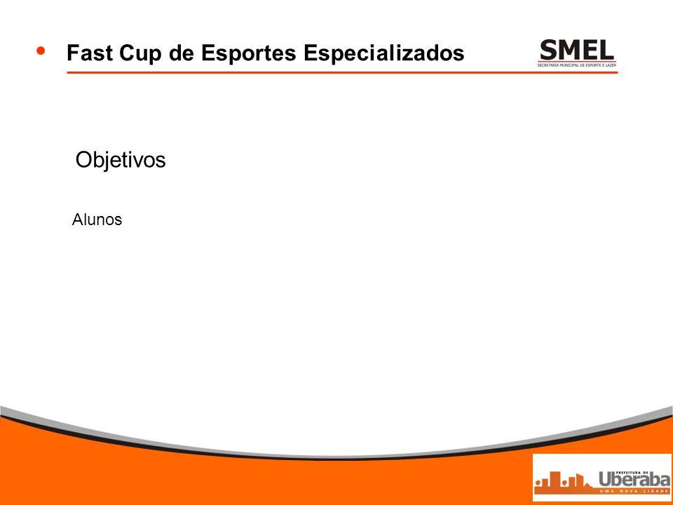Fast Cup de Esportes Especializados Objetivos Alunos