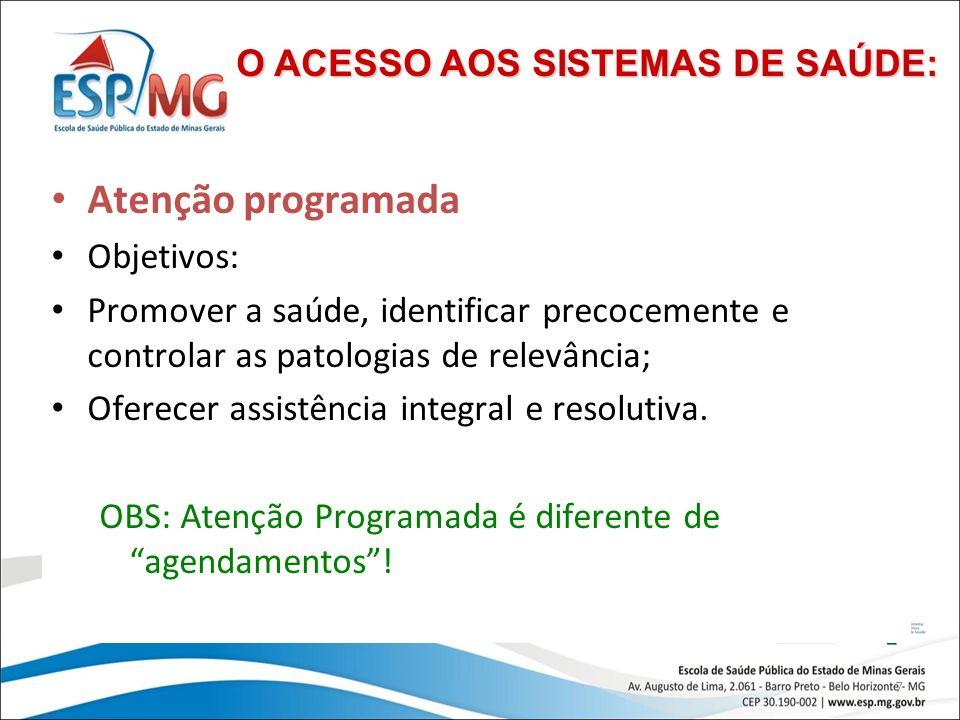 8 Atenção programada Como são calculados nº de consultas e atendimentos programados.