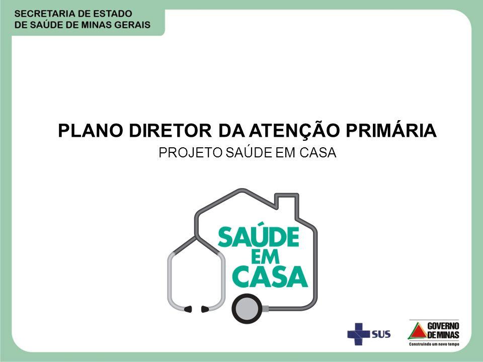 PLANO DIRETOR DA ATENÇÃO PRIMÁRIA PROJETO SAÚDE EM CASA