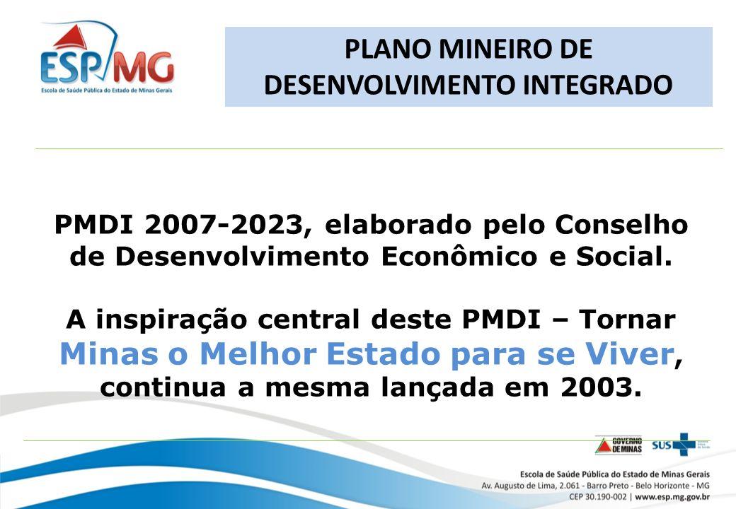 PMDI 2007-2023, elaborado pelo Conselho de Desenvolvimento Econômico e Social.