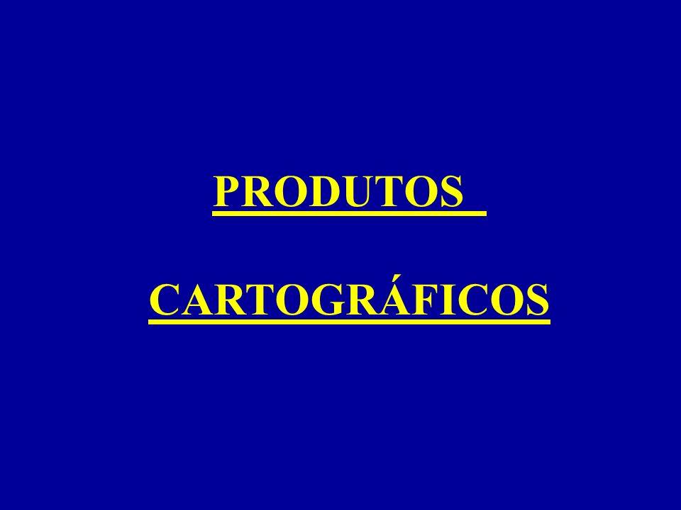 PRODUTOS CARTOGRÁFICOS