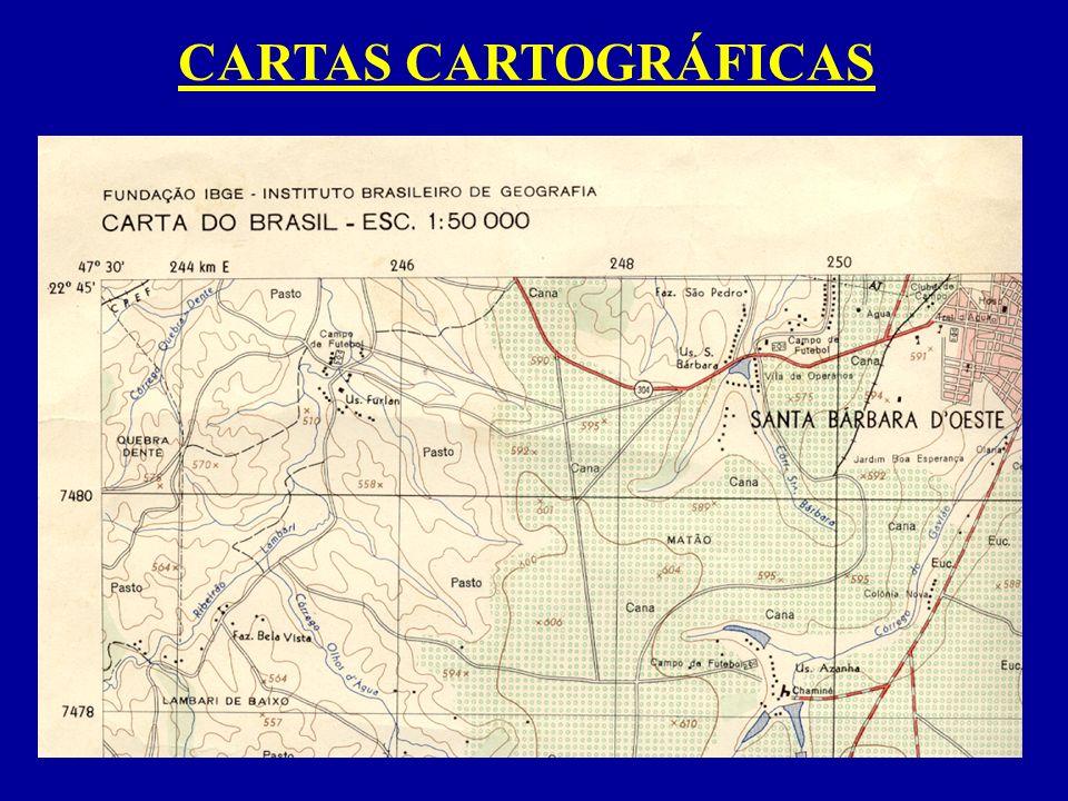 CARTAS CARTOGRÁFICAS