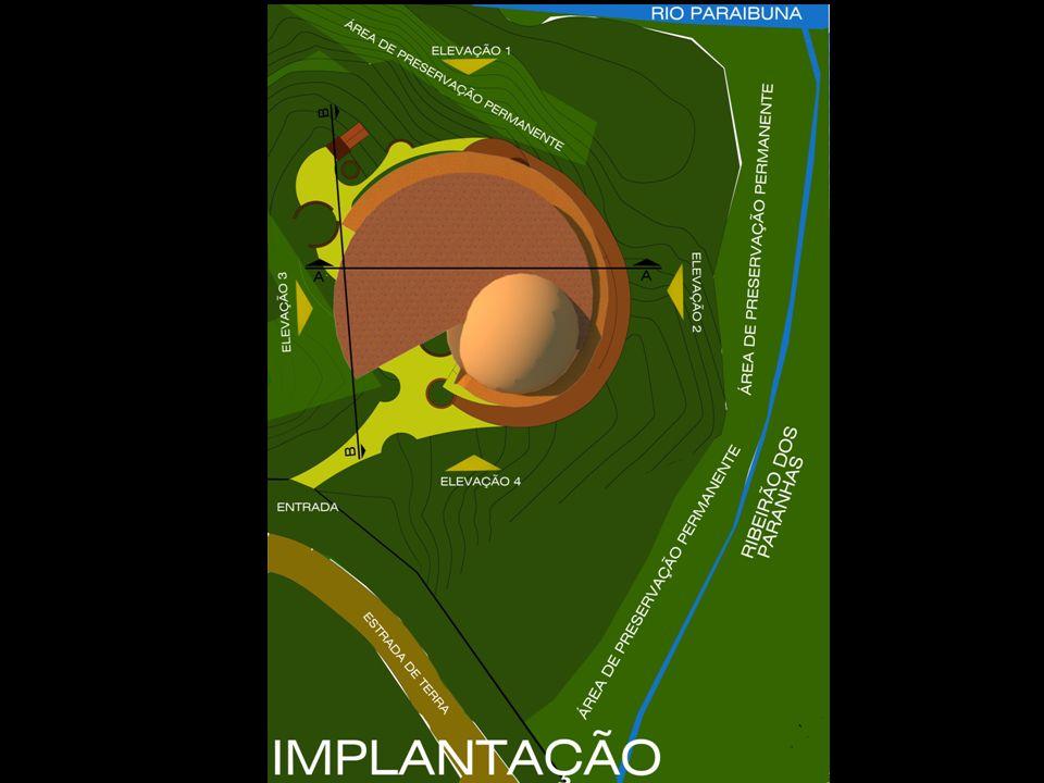 12 3 4 5 6 PLANTA PAVIMENTO TÉRREO RECEPÇÃO ENTRADA ANFITEATRO