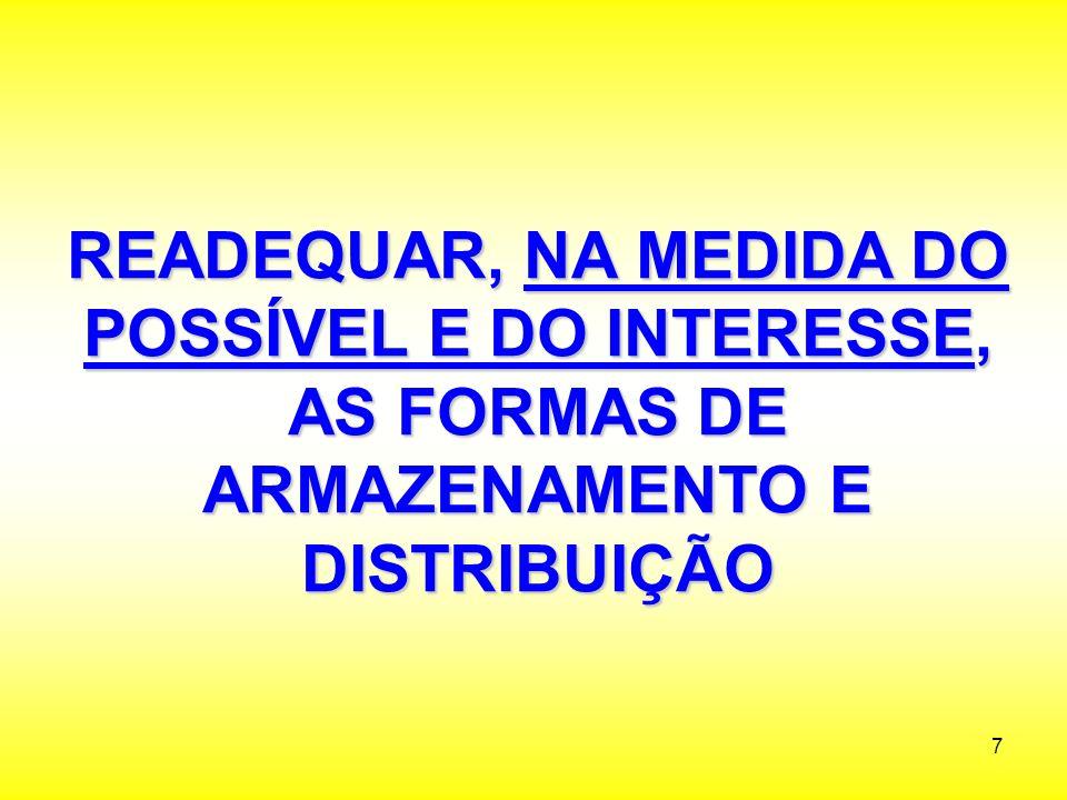 48 E LÓGICA DE ORGANIZAÇÃO DE ARMAZENAMENTO E LÓGICA DE ORGANIZAÇÃO DE ARMAZENAMENTO