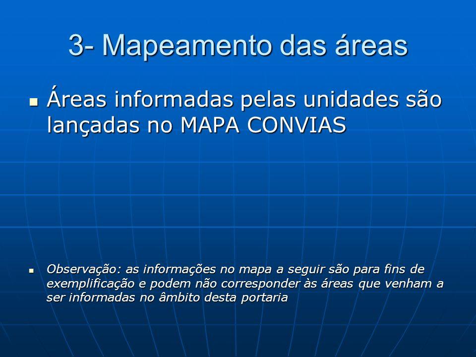 Mapa CONVIAS