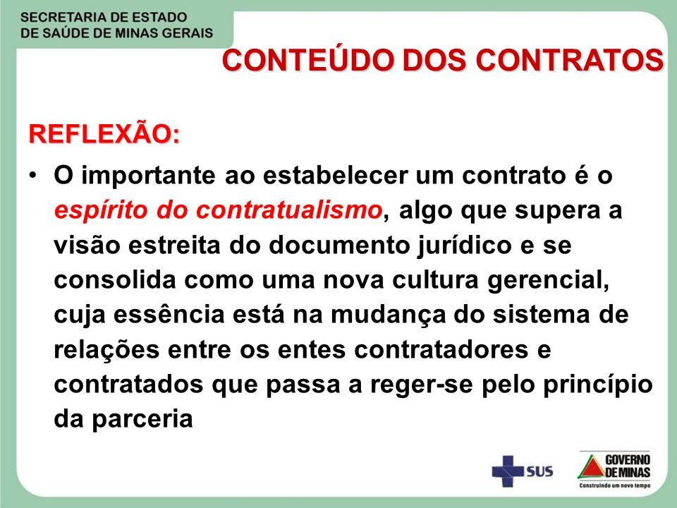 REFLEXÃO: O importante ao estabelecer um contrato é o espírito do contratualismo, algo que supera a visão estreita do documento jurídico e se consolid