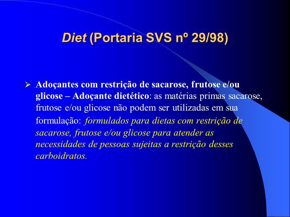 Avaliação da rotulagem dos alimentos com Informação Nutricional Complementar fabricados no Município de São Paulo (Covisa/SMS/2008) Avaliação da rotulagem dos alimentos com Informação Nutricional Complementar fabricados no Município de São Paulo (Covisa/SMS/2008) Objetivo: Verificar a adequação dos rótulos dos produtos alimentícios dispensados de registro fabricados no Município de São Paulo em relação à Informação Nutricional Complementar