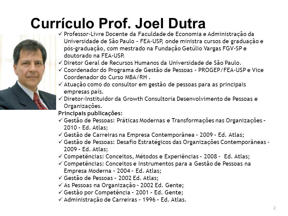 2 Professor-Livre Docente da Faculdade de Economia e Administração da Universidade de São Paulo – FEA-USP, onde ministra cursos de graduação e pós-graduação, com mestrado na Fundação Getúlio Vargas FGV-SP e doutorado na FEA-USP.