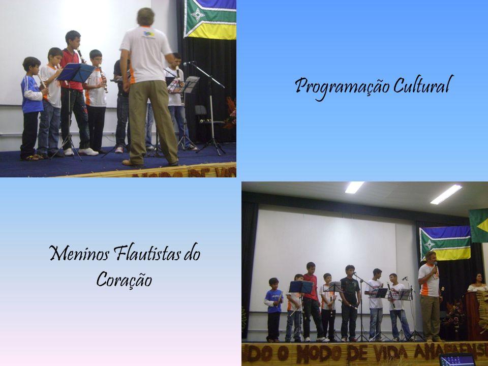 Programação Cultural Meninos Flautistas do Coração
