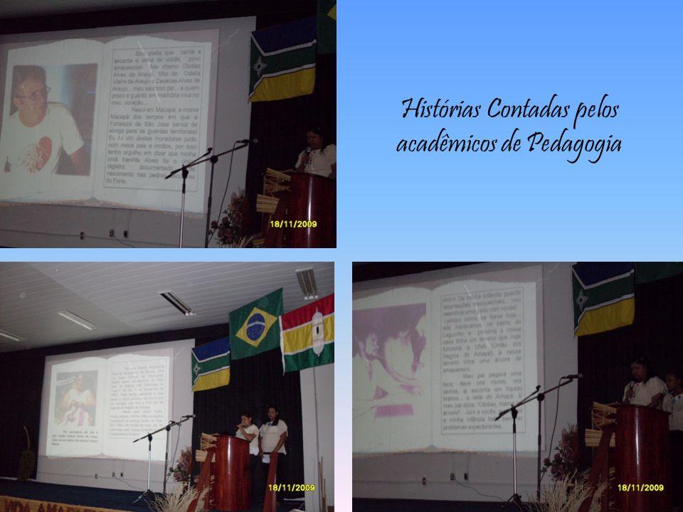 Histórias Contadas pelos acadêmicos de Pedagogia