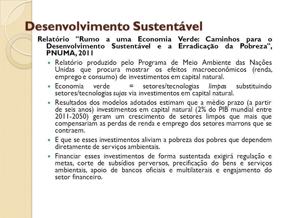 Desenvolvimento Sustentável Relatório